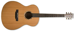 Tofino - a solid wood cedar top acoustic guitar from MacKenzie & Marr