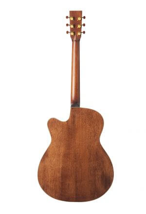 Dionisio - Our Cedar top cutaway - back view