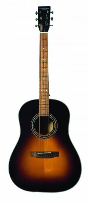 The Grand Manan sunburst Dreadnought