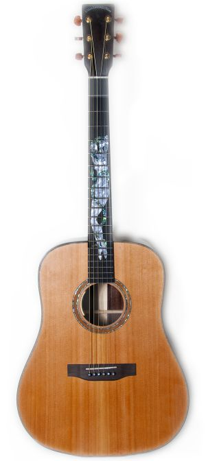 The Tom Rush Naked Lady acoustic guitar