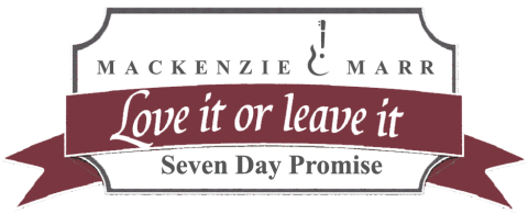 the MacKenzie and Marr seven day guarantee